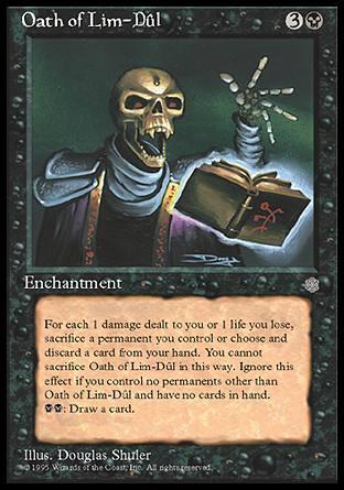 Oath of Lim-Dul Magic Card
