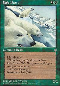 Pale Bears Magic Card