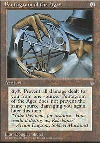 Pentagram of the Ages Magic Card