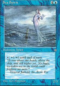 Sea Spirit Magic Card