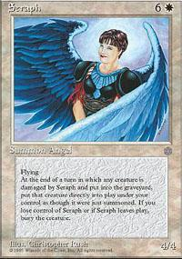 Seraph Magic Card