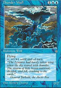 Thunder Wall Magic Card