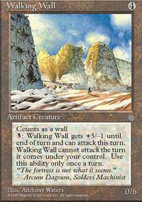 Walking Wall Magic Card
