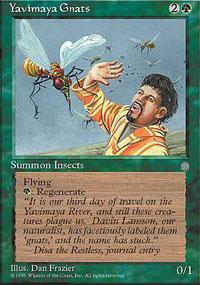 Yavimaya Gnats Magic Card