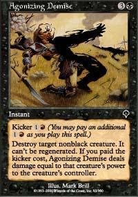 Agonizing Demise Magic Card