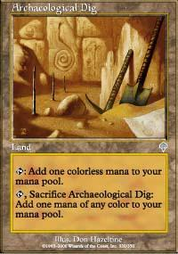 Archaeological Dig Magic Card