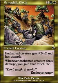 Armadillo Cloak Magic Card