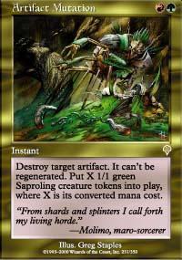 Artifact Mutation Magic Card