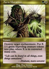 Aura Mutation Magic Card