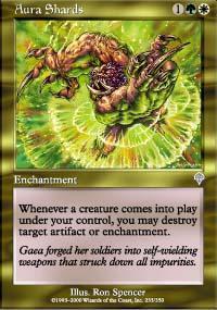 Aura Shards Magic Card