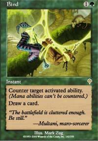 Bind Magic Card