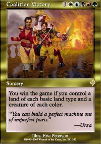 Coalition Victory Magic Card