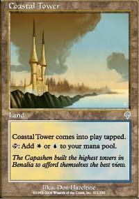 Coastal Tower Magic Card