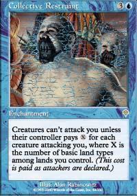 Collective Restraint Magic Card