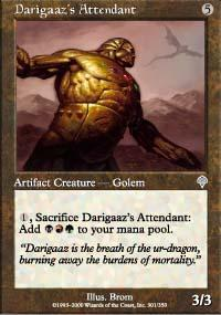 Darigaaz's Attendant Magic Card
