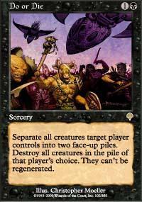 Do or Die Magic Card