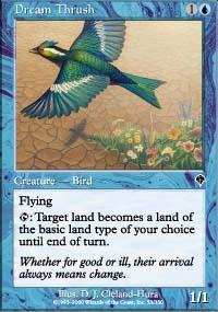 Dream Thrush Magic Card