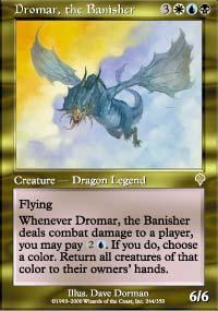 Dromar, the Banisher Magic Card