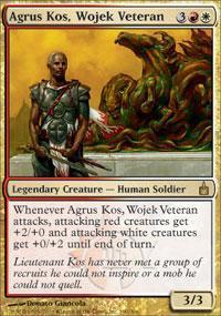Agrus Kos, Wojek Veteran Magic Card