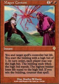 Mages' Contest Magic Card
