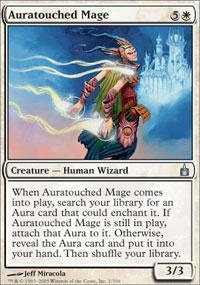 Auratouched Mage Magic Card