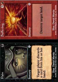 Pain // Suffering Magic Card