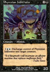 Phyrexian Infiltrator Magic Card