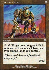Power Armor Magic Card