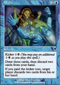 Probe Magic Card
