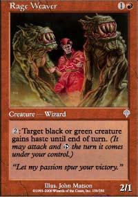 Rage Weaver Magic Card