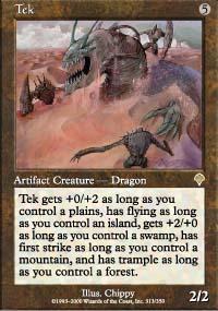 Tek Magic Card