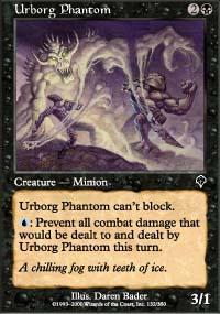 Urborg Phantom Magic Card