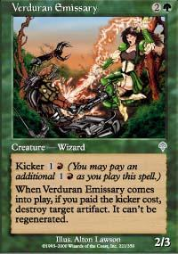 Verduran Emissary Magic Card