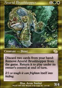Anurid Brushhopper Magic Card