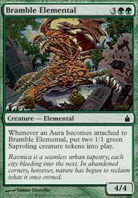 Bramble Elemental Magic Card