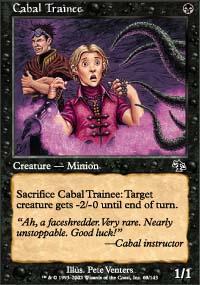 Cabal Trainee Magic Card