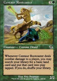 Centaur Rootcaster Magic Card