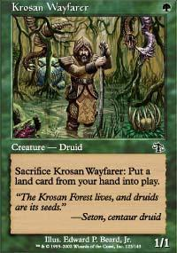 Krosan Wayfarer Magic Card