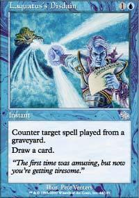 Laquatus's Disdain Magic Card
