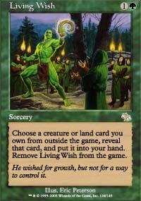 Living Wish Magic Card