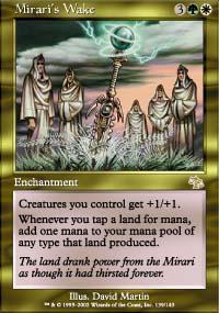 Mirari's Wake Magic Card