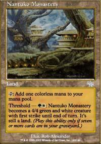 Nantuko Monastery Magic Card