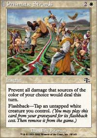 Prismatic Strands Magic Card