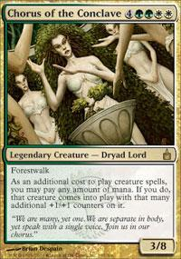 Chorus of the Conclave Magic Card
