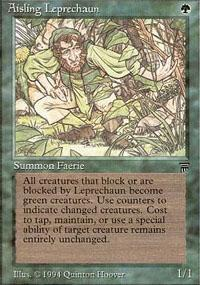 Aisling Leprechaun Magic Card