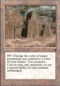 Alchor's Tomb Magic Card
