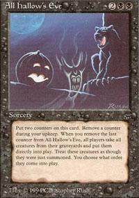 All Hallow's Eve Magic Card