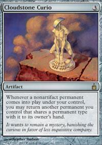 Cloudstone Curio Magic Card