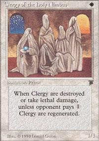 Clergy of the Holy Nimbus Magic Card