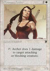 D'Avenant Archer Magic Card